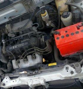 Двигатель 8кл Шевроле Ланос, Заз Шанс, Нексия