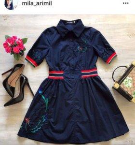 Новое платье D&G