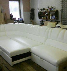 Полный ремонт и перетяжка мягкой мебели