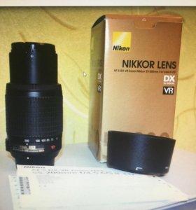 Nikon 55-200mm f4-5.6G AF-S DX ED VRII