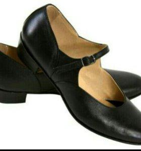 Народные туфли в хорошем состояние