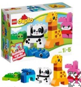 "Лего дупло ""веселые зверушки"""