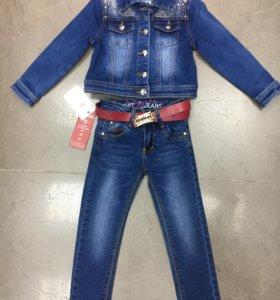 Джинсы, джинсовая куртка