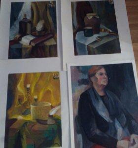 Картины, живопись, рисунки