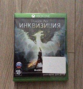 Игра на Xbox one Dragon age Инквизиция