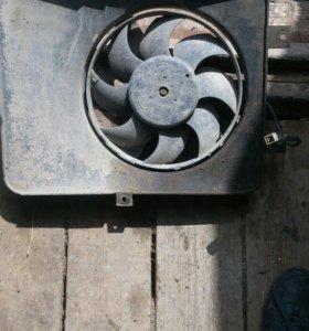 Вентилятор охлаждения радиатора 2110