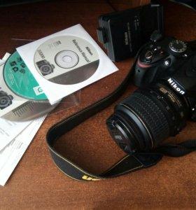 Фотоаппарат зеркальный Nikon D3200