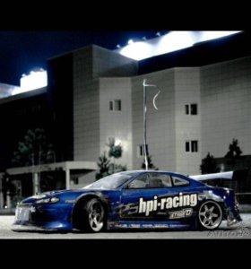 HPI Nitro RS4 RTR3 drift