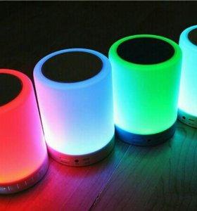 Smart bluetooth колонка-лампа