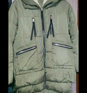 Куртка-парка на синтепоне