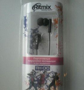 Наушники Ritmix ( новые в упаковке )