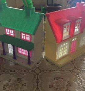 Мини кукольный дом