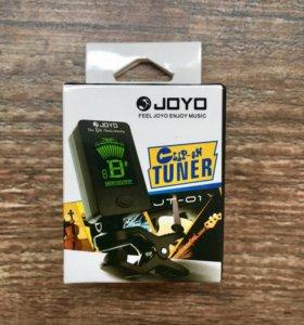 Компактный тюнер Joyo JT-1 для настройки гитары