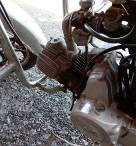 Мотоцикл 110 кубов