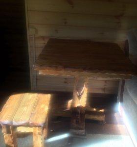 Стол +4 табурета