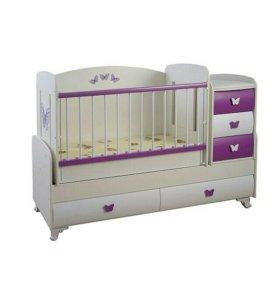 Детская кроватка Glamvers Barocco