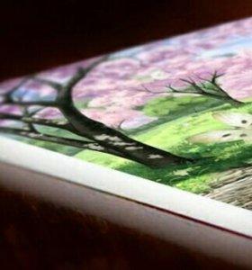 Панно, постеры, модульные картины на пенокартоне.
