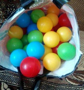 Шарики для детского бассеина 50 штук
