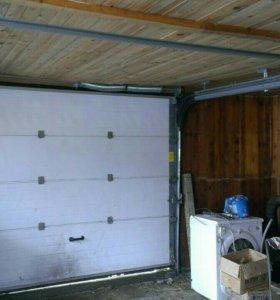 Ворота роллетные гаражные