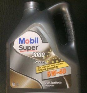 Масло Mobil diesel 5w40 4l