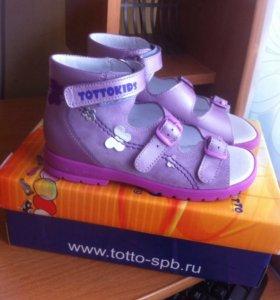 Сандалии Тотто новые