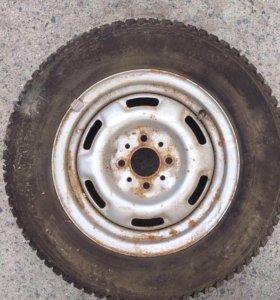 Зимние колёса (4 штуки)