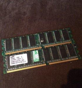 Оперативная память samsung ddr 256mb