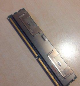 Оперативная память 2x4gb ddr3