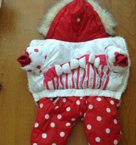 Зимний комбинезон для собак мелких пород