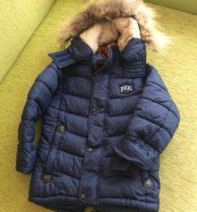Куртка детская зимняя для мальчика