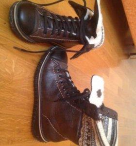 Зимние ботинки rieker 36
