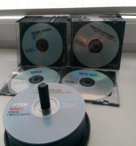 Коллекция музыкальных DVD дисков
