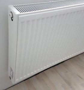 Радиатор стальной cv22 600x1400 (2500Вт) для АО