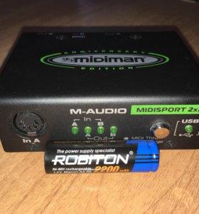 Внешний (USB) MIDI интерфейс