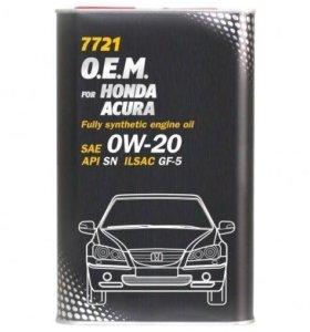 Mannol for Honda Acura SAE 0W-20 (4л)
