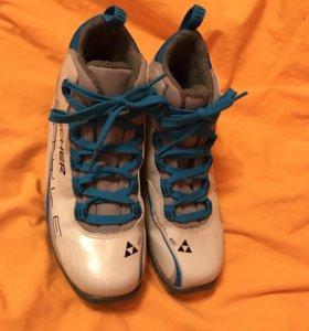 Ботинки лыжные Fisher р 37-38