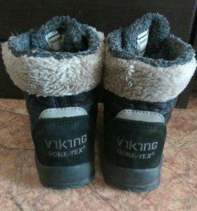 Зимние детские ботинки Viking