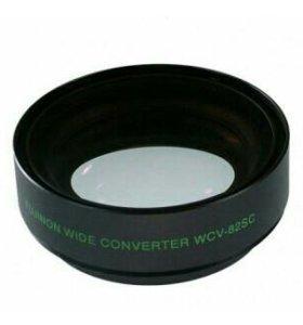 Fujinon wide converter wcv-82sc. Обмен.