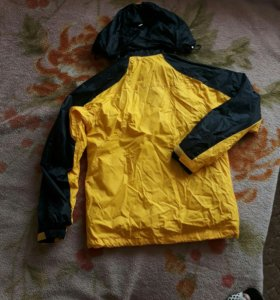 Твинсет ветровка + флизовая куртка