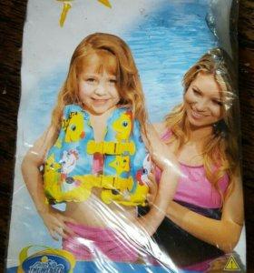 """Жилет для плавания детский """"Веселые рыбки"""""""