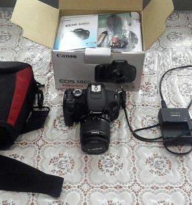 Фотоаппарат Canon eos 600d + сумка