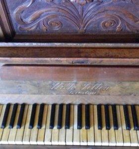 Продам старинное пианино Wilh Velten Breslau