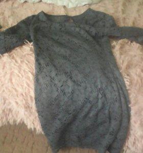 Платье чёрное для вечеринки