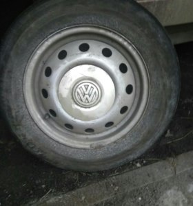Диски r14 VW
