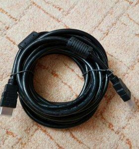 Новый hdmi кабель 5м