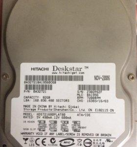 Жёсткий диск 82GB