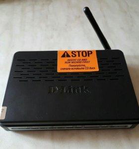 Wifi роутер D-link