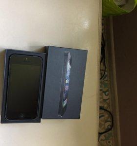 Айфон 5 черный 16гб в идеале