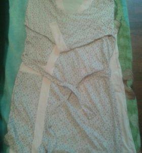 НОВЫЕ!ночнушка+халат+пижама(3 в 1)