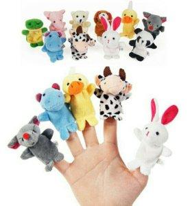 Пальчиковые игрушки 10 шт Новые набор